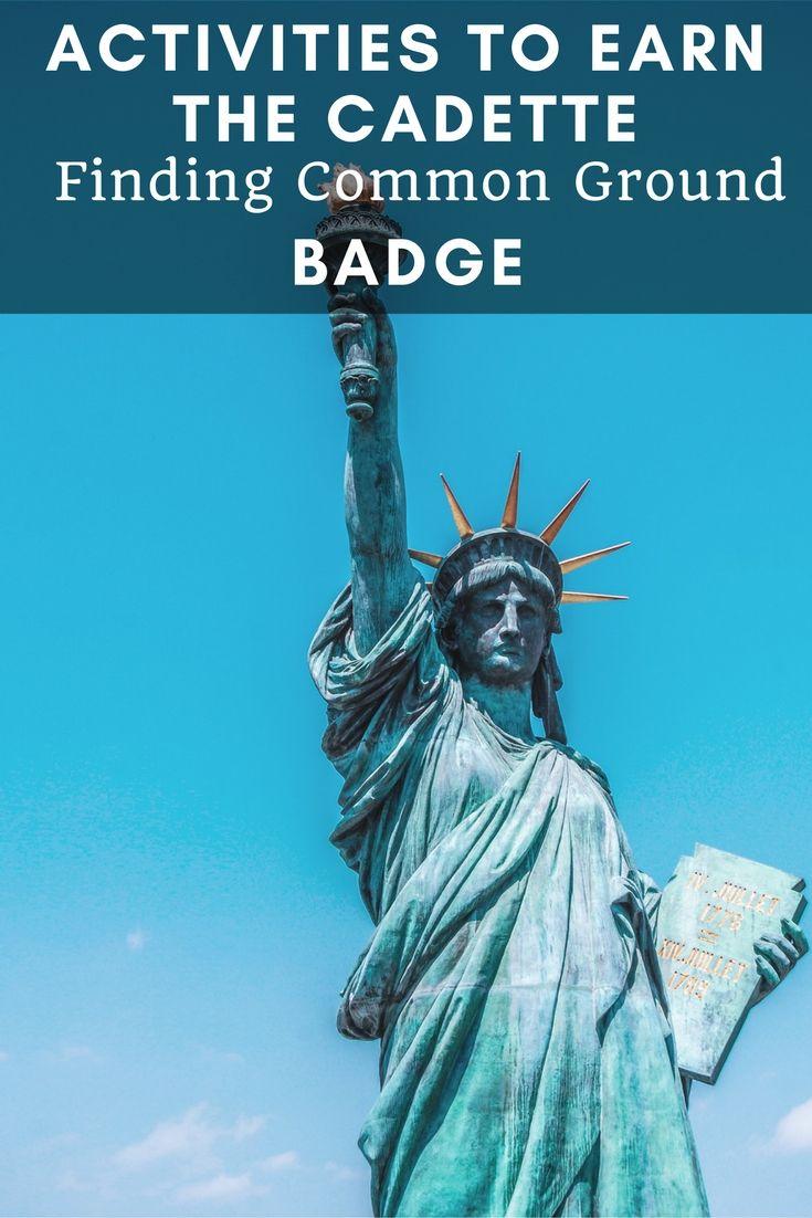 Earning their badge