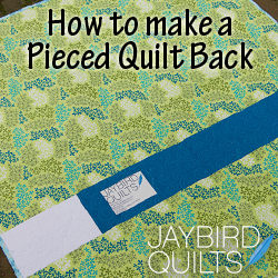 Tutorial for piecing a quilt back. Will come in handy when I don't ... : quilt backs - Adamdwight.com