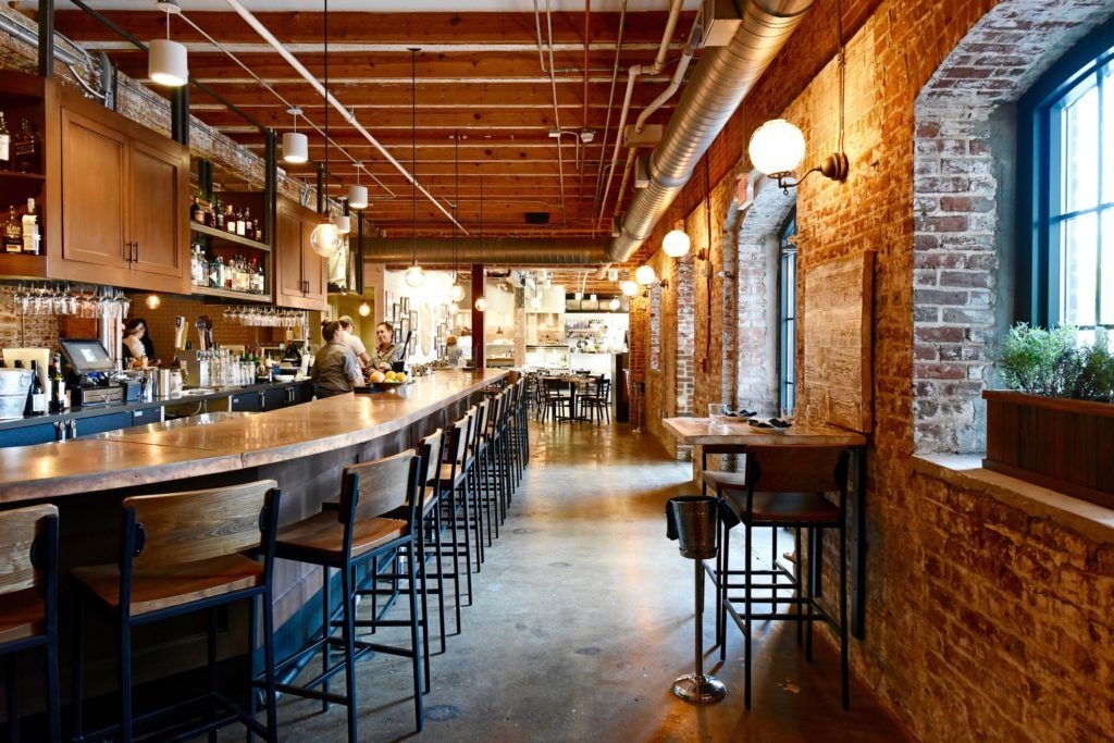 Rahannock Oyster Bar Charleston Sc View Of Area
