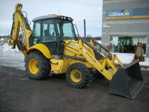 New Holland B95tc Tractor Loader Backhoe Tlb Illustrated