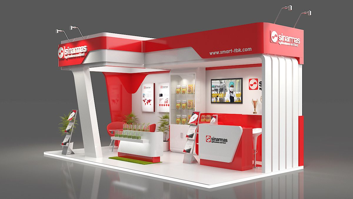 Food Exhibition Stall : Sinarmas agribusiness food on behance exhibition design