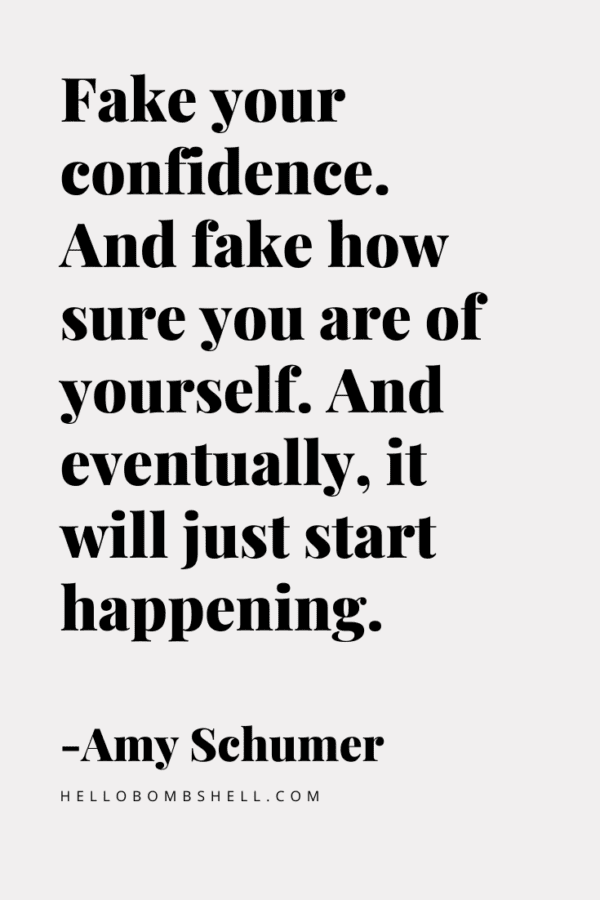 How To Be Confident and Not Give a Shit What Anybody Thinks About You - Hello Bombshell!