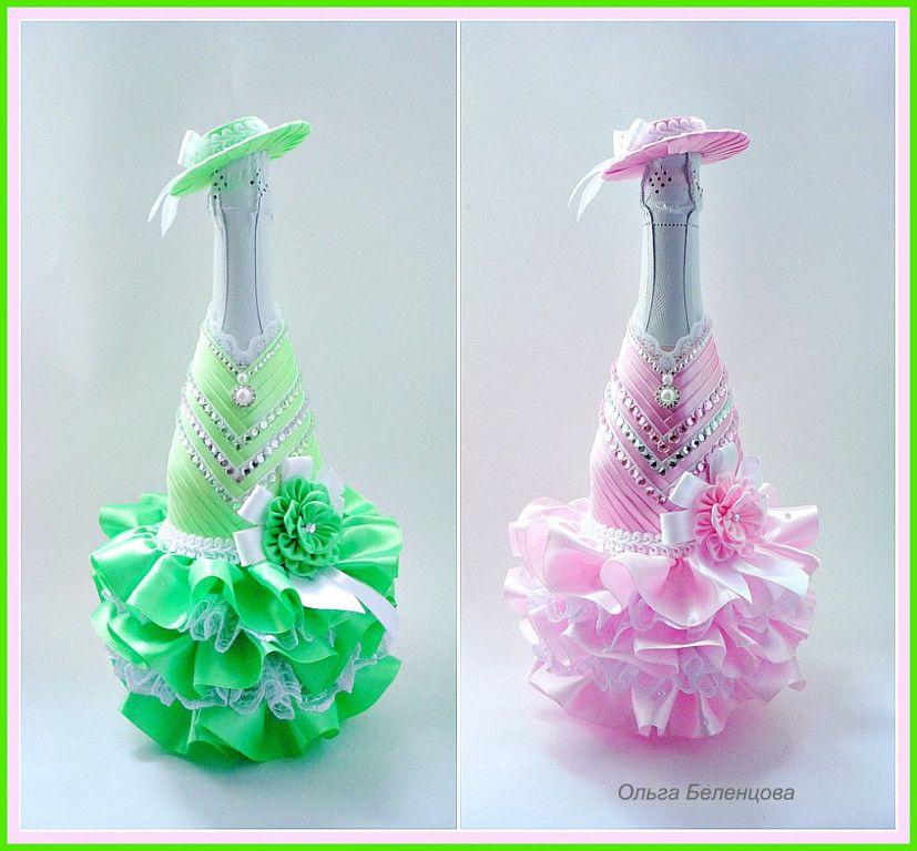 Botellas de brindis decoradas para quince anos botellas de - Decoracion con botellas ...