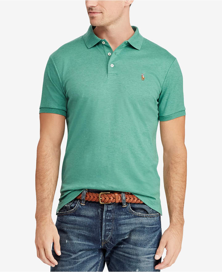 8f7b025855 Men's Custom Slim Fit Soft Touch Cotton Polo, Created for Macy's in ...