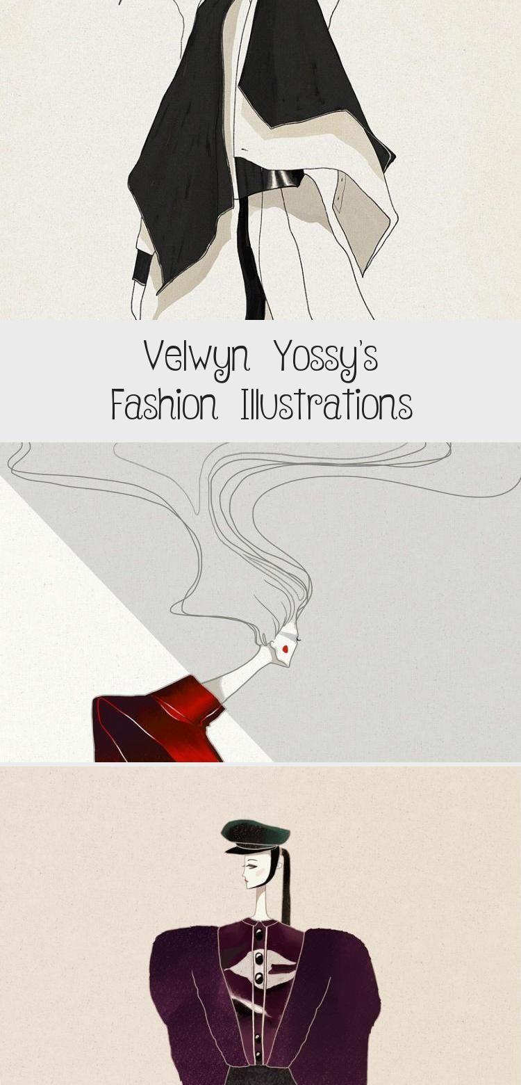 Velwyn Yossy S Fashion Illustrations With Images Fashion Illustration Illustration City Illustration