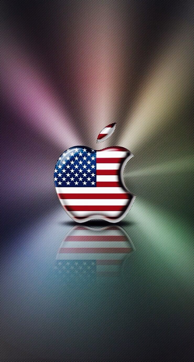 America Apple Apple Wallpaper Apple Logo Wallpaper Iphone Apple Wallpaper Iphone