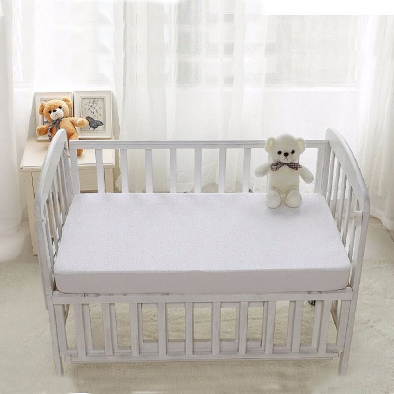 Size 72 132cm Baby Matress Cover Vingl Free All Natural Waterproof Topper Style On Best Crib Mattressmattress
