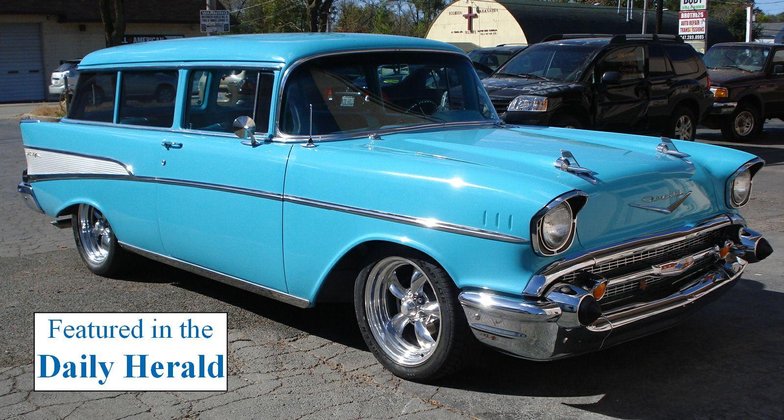1957 Chevy Wagon Chevy Classic Trucks 1957 Chevrolet