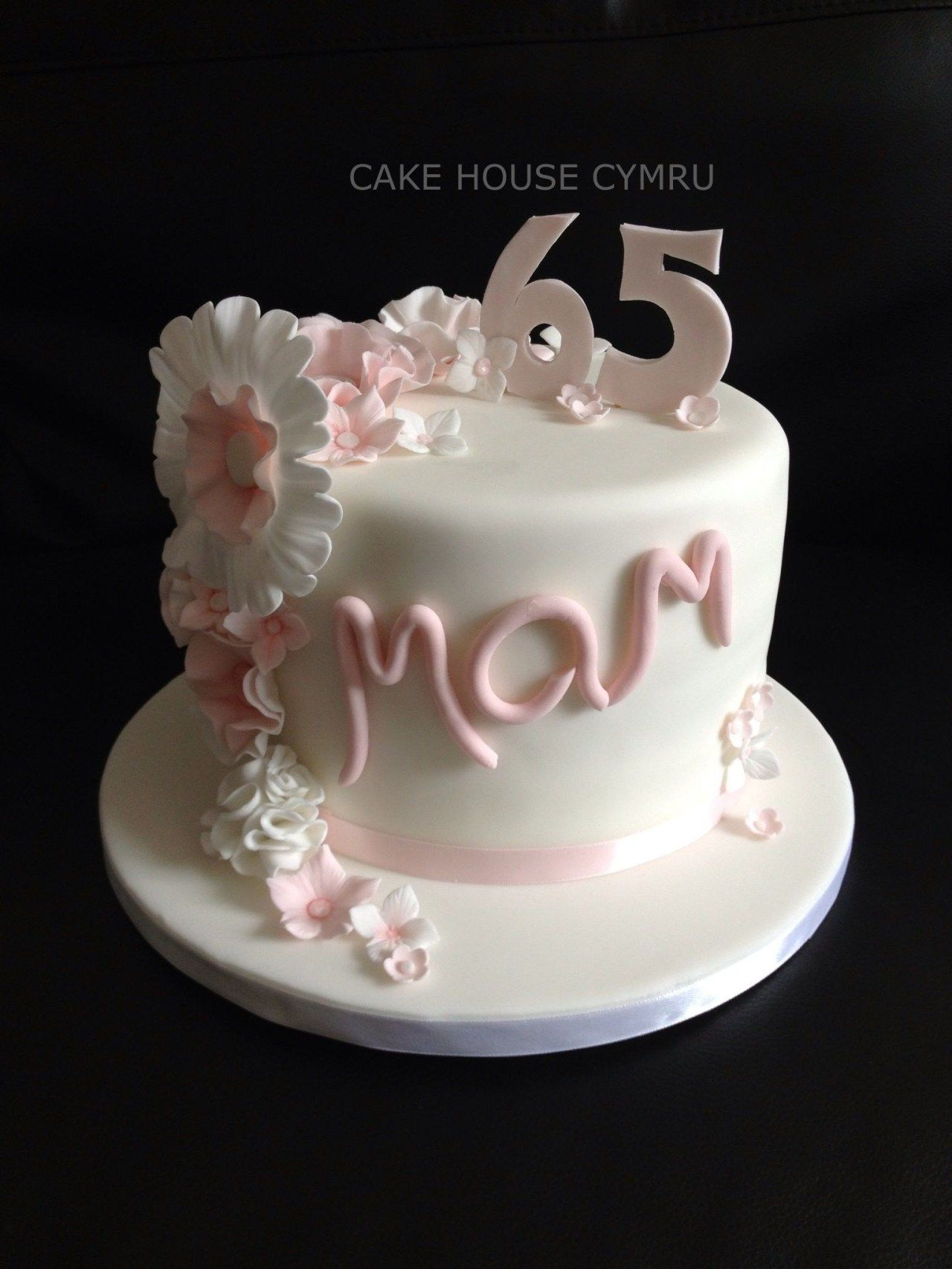 Birthday Cakes For A 50 Year Old Woman 65th Birthday Cake Mothers