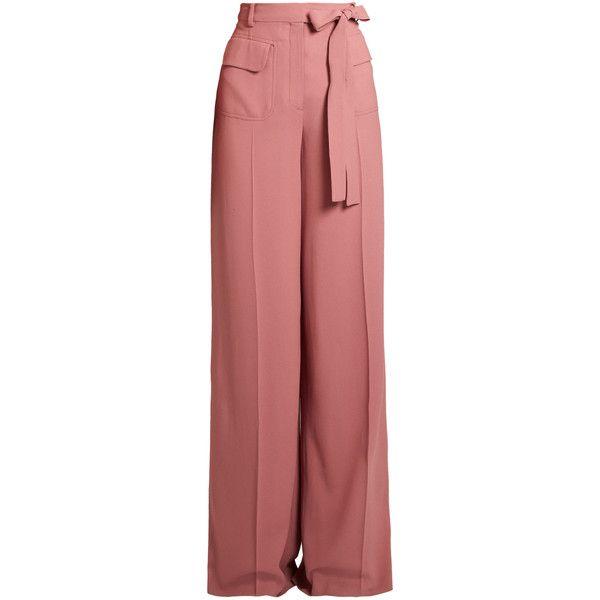 Crêpe trousers Valentino Hs2BNB