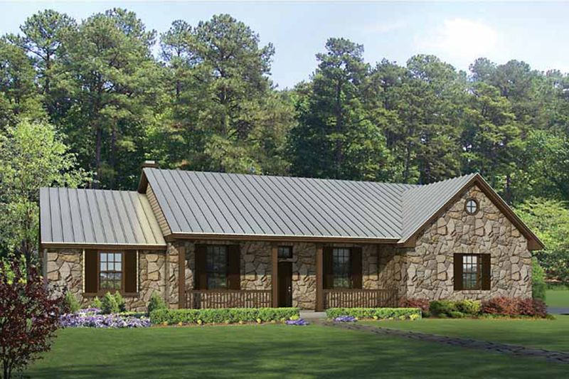 Country Style House Plan 3 Beds 2 Baths 2136 Sq Ft Plan 935 1 Ranch Style House Plans Country Style House Plans House Plans With Pictures