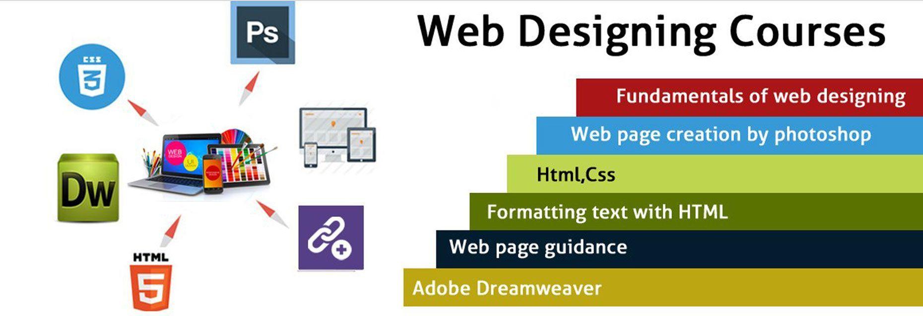 web designing training in