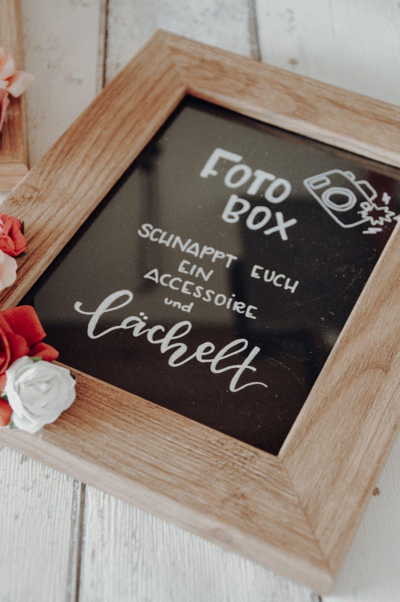 Photo of Hochzeitsgästebuch und die Kruu Fotobox – Fanelia
