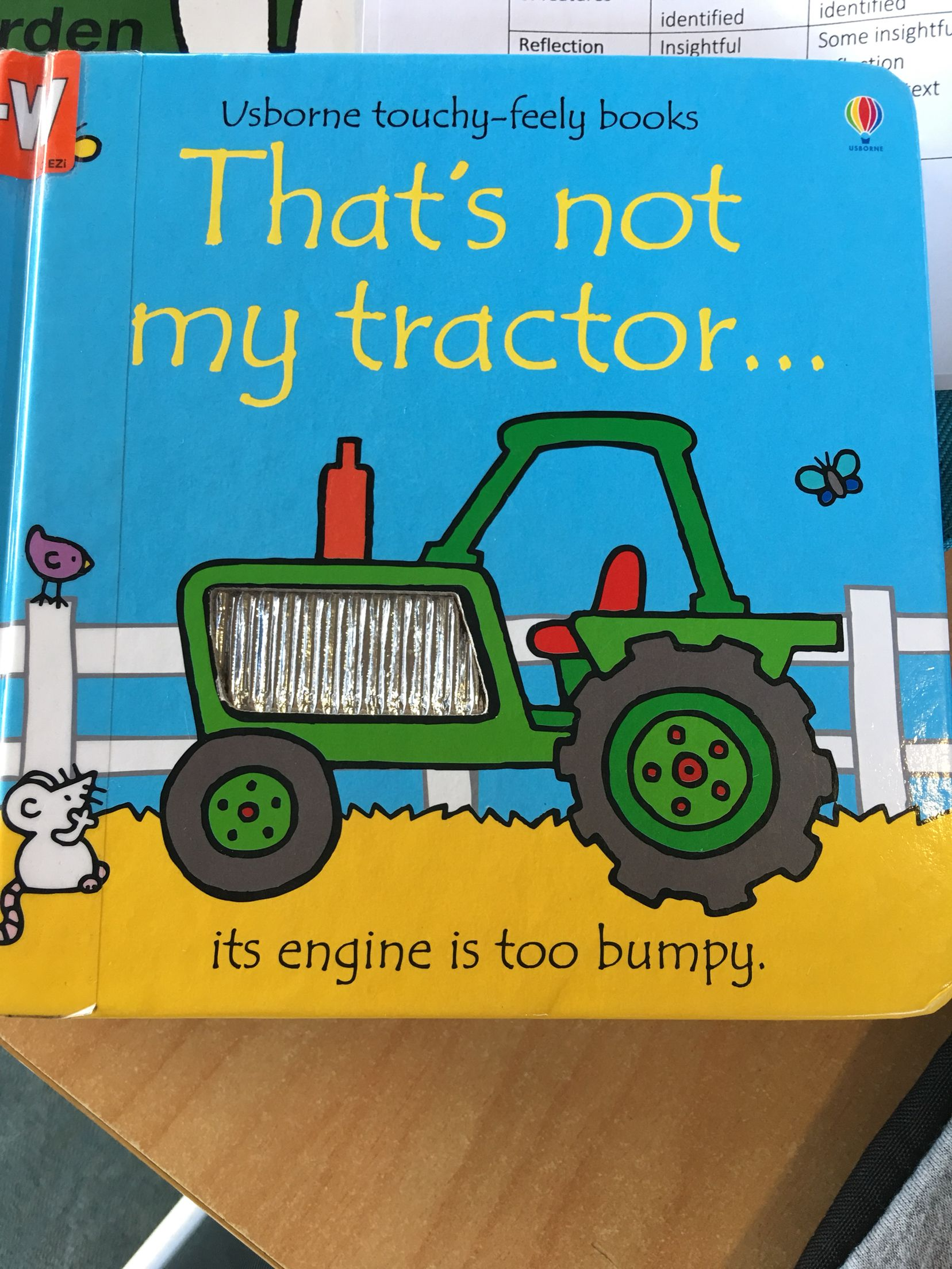 I Like This Children Book Because It Is A Touchy Feely