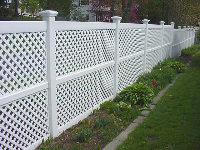 Cheap Pool Fence Ideas bamboo privacy fence split bamboo fencing comes in rolls and is cheap a simple How Lattice Is Used To Beautify Decks Fences Gazebos