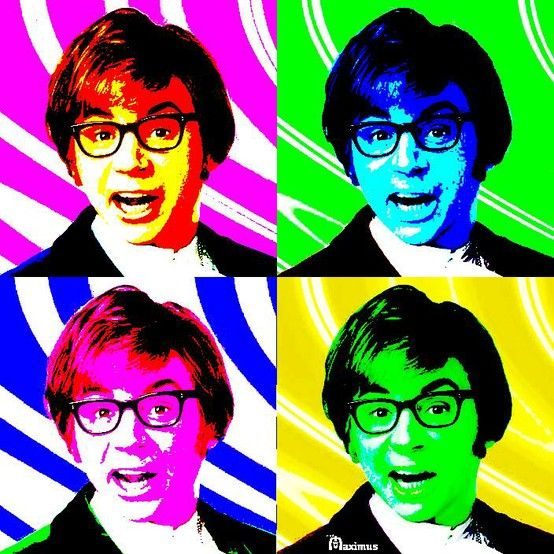Andy Warhol Austin Powers Classic Comedies Power Wallpaper Austin Powers