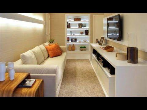 Como decorar uma sala estreita e comprida ambientes for Como decorar sala