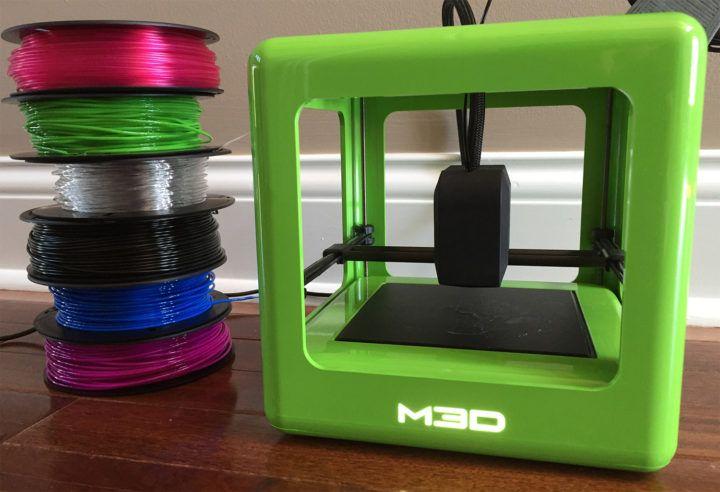 REVIEW M3D Micro 3D Printer Micro 3d printer, Micro 3d