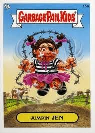 Pin By Jenny Adkins On When I Was A Kid Garbage Pail Kids Garbage Pail Kids Cards Pail