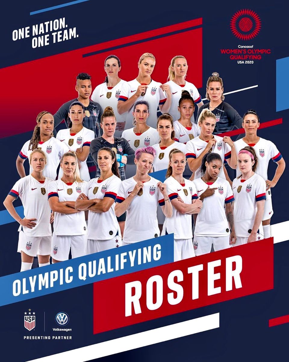 Pin By Morgan Fife On New House Mckenna In 2020 Uswnt One Team Womens Soccer
