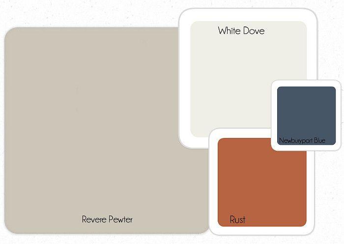 transitional paint colors revere pewter white dove swatch color match valspar uk