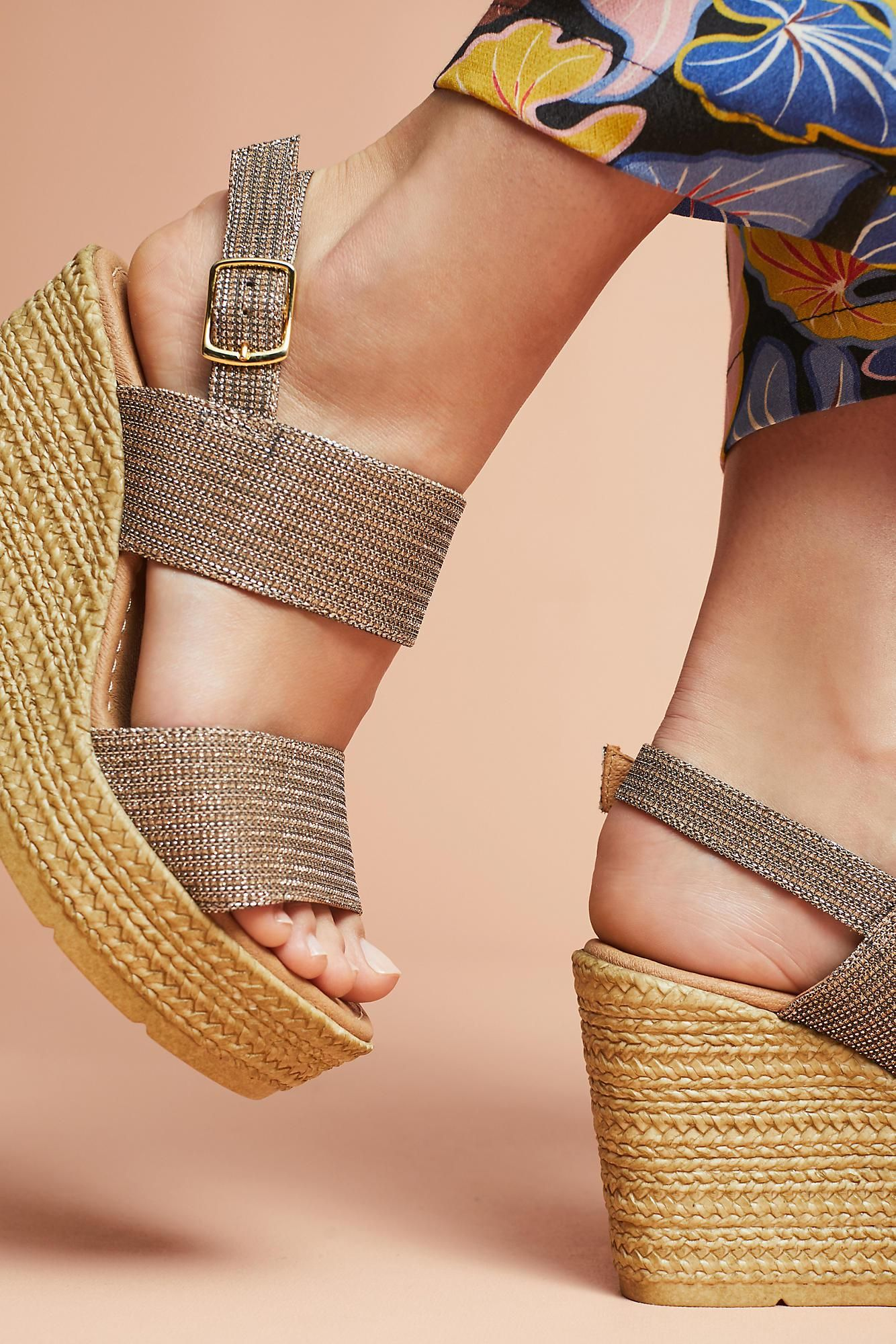 08cc773397a Seychelles - Multicolor Downtime Wedge Sandals - Lyst. View Fullscreen