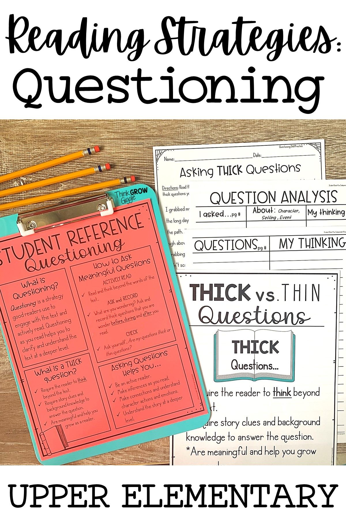 Questioning Reading Strategy