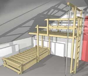 Betten Betten Fur Dachschragen Dachschrage Abenteuerbett Und Bett