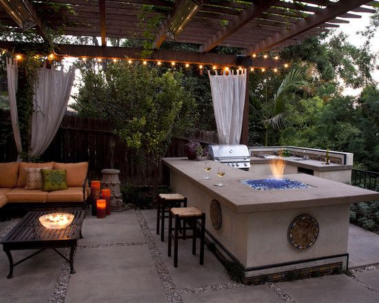 Backyard Kitchen Ideas Pinterest