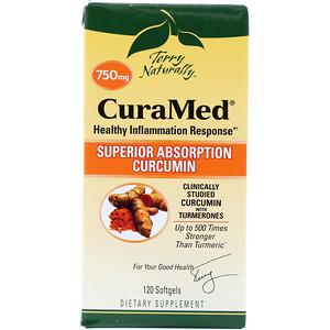 Europharma Terry Naturally Curamed 750 Mg 120 Softgels Iherb In 2020 Curcumin Benefits Curcumin Turmeric Essential Oil