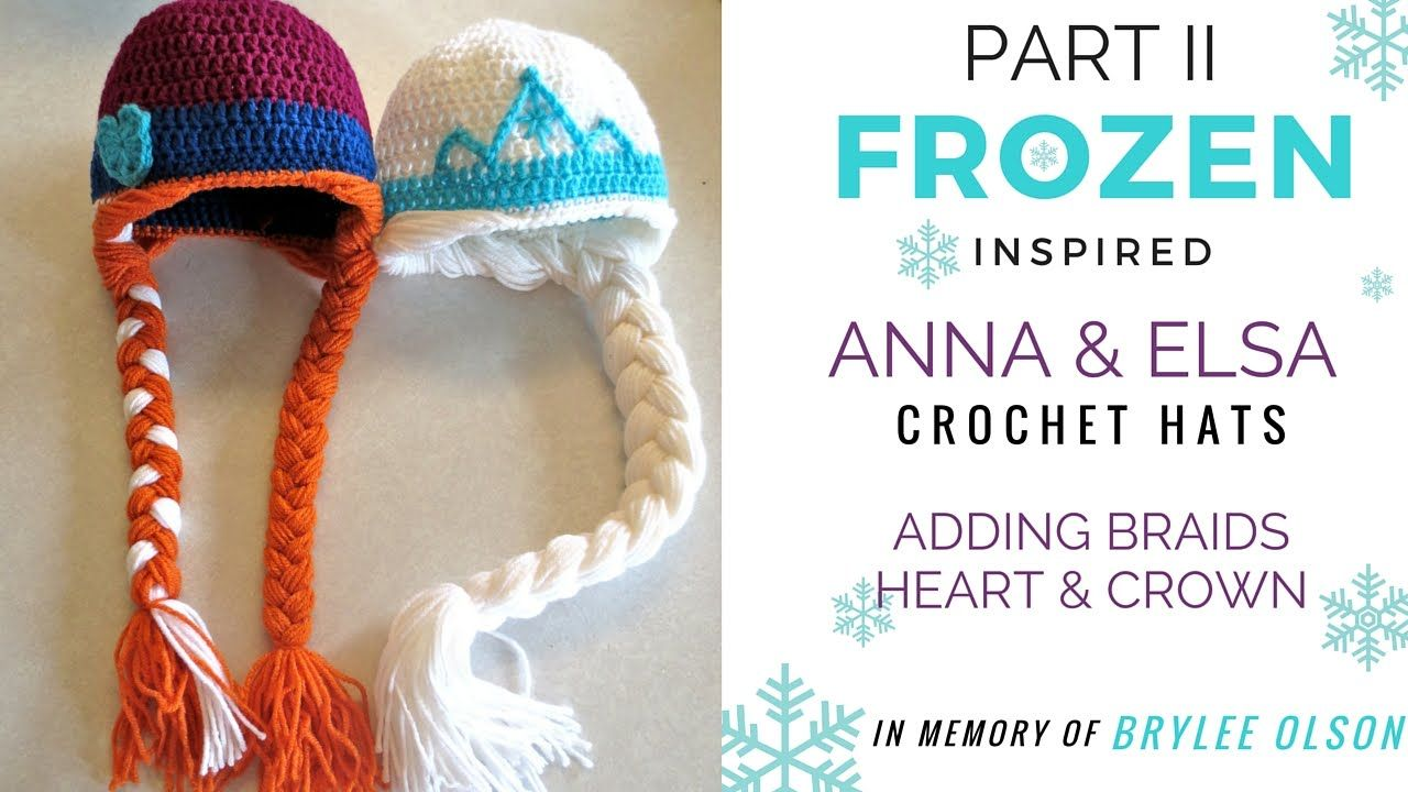 For brylee frozen inspired anna elsa crochet hat video tutorial for brylee frozen inspired anna elsa crochet hat video tutorial part baditri Image collections