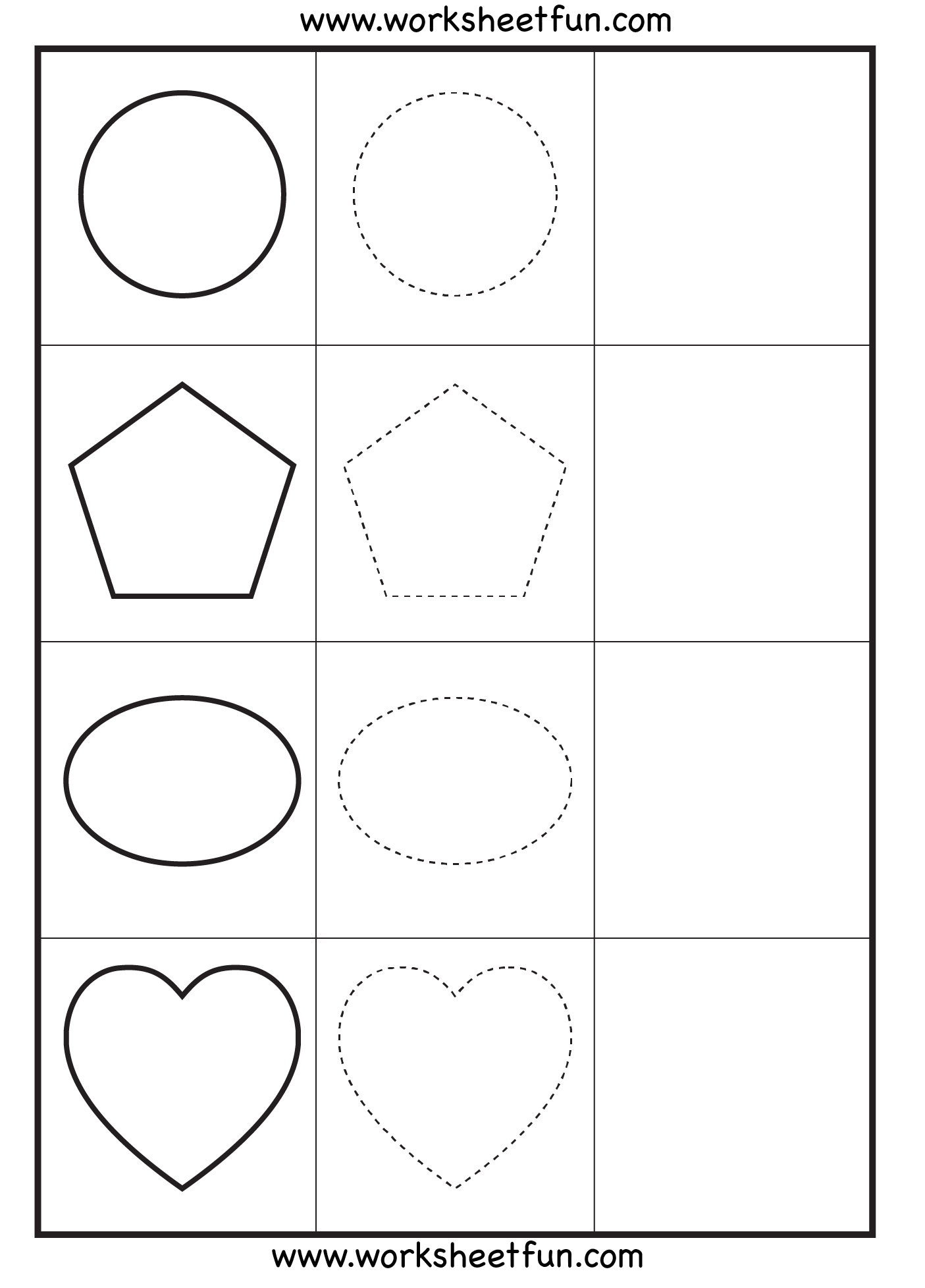 Shapes Tracing