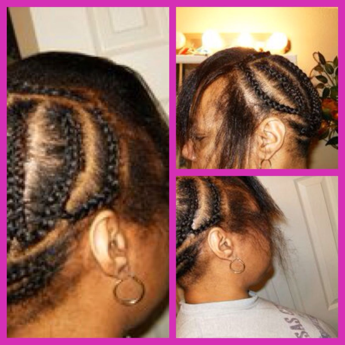 Braid Pattern For That U Part Wig U Part Wig Sew In Wig Wigs