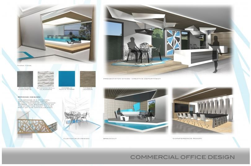 Layout For Commercial Project Interior Design Boards Commercial
