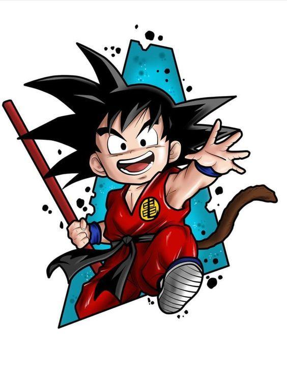 Quer aprender a desenhar o GOKU e muitos outros Personagens?
