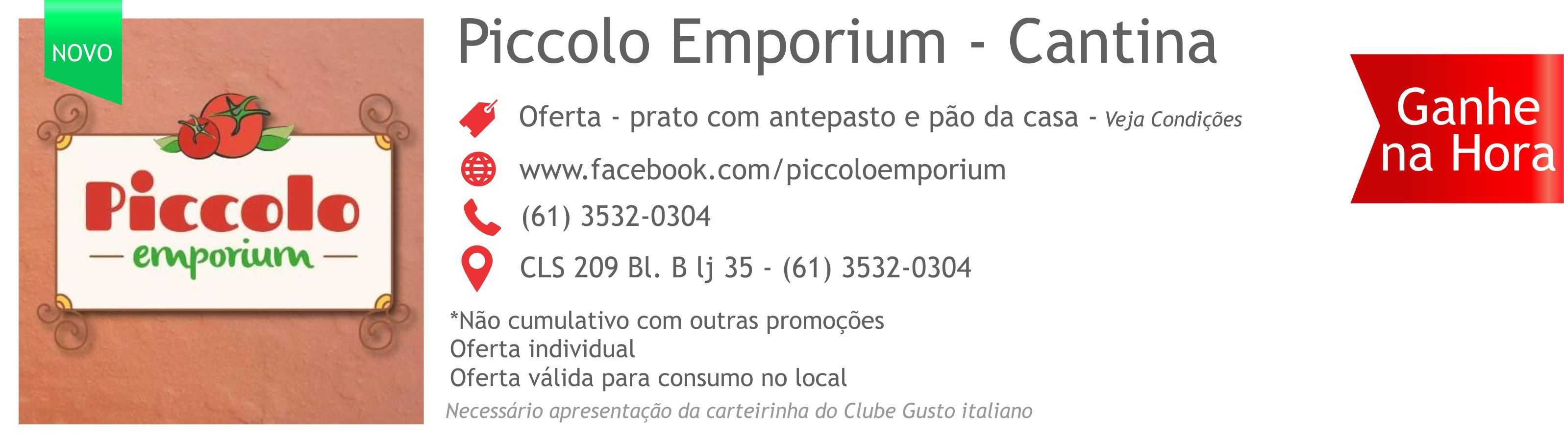 seja sócio do clube de vantagens e descontos. www.gustoitaliano.com.br