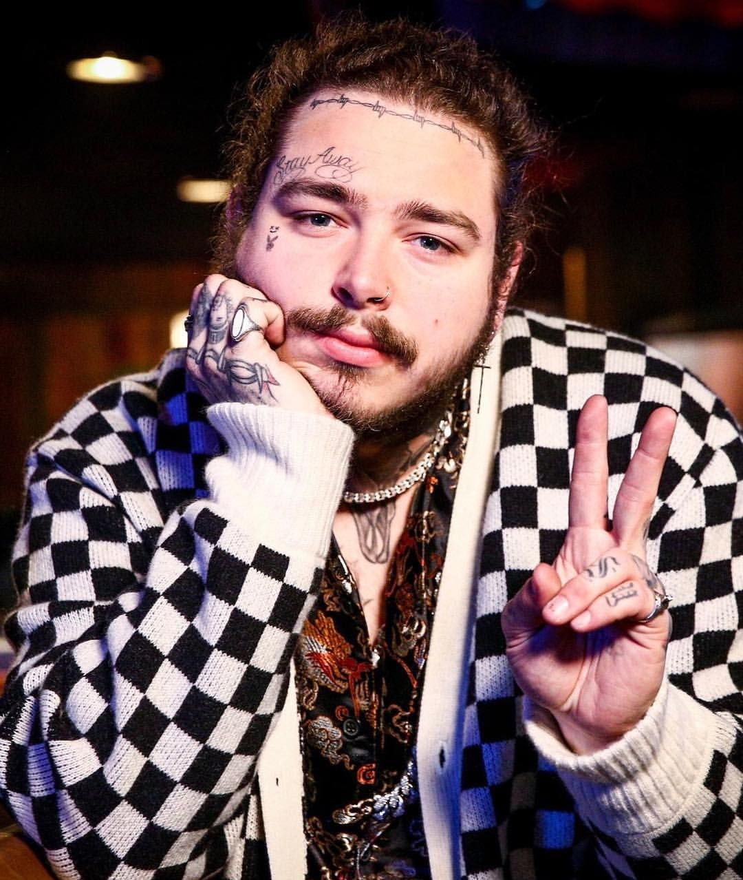 Post malone nose piercing   Likes  Comments  post malone postybae on Instagram