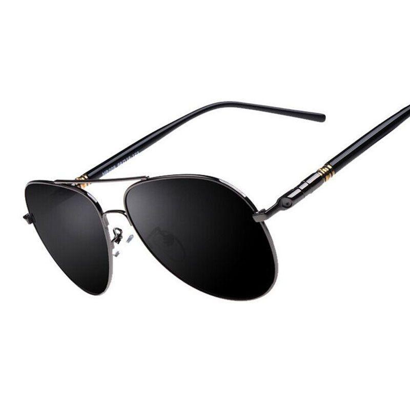 fcbe0b9288afb Mens HD Polarized Aviator Sunglasses Driving Glasses Riding Sports UV400  Eyewear  fashion  clothing  shoes  accessories  mensaccessories ...