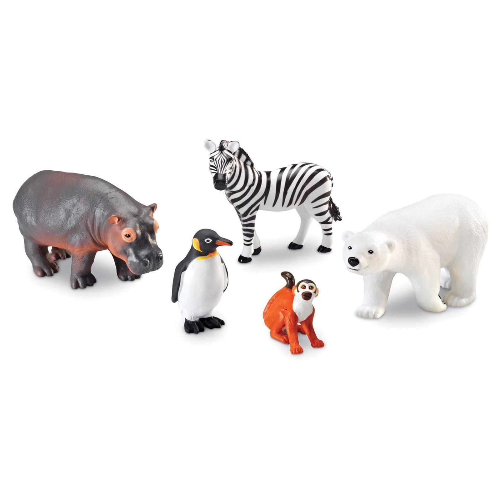 Learning Resources Jumbo Zoo Animals Www Hayneedle Com Zoo