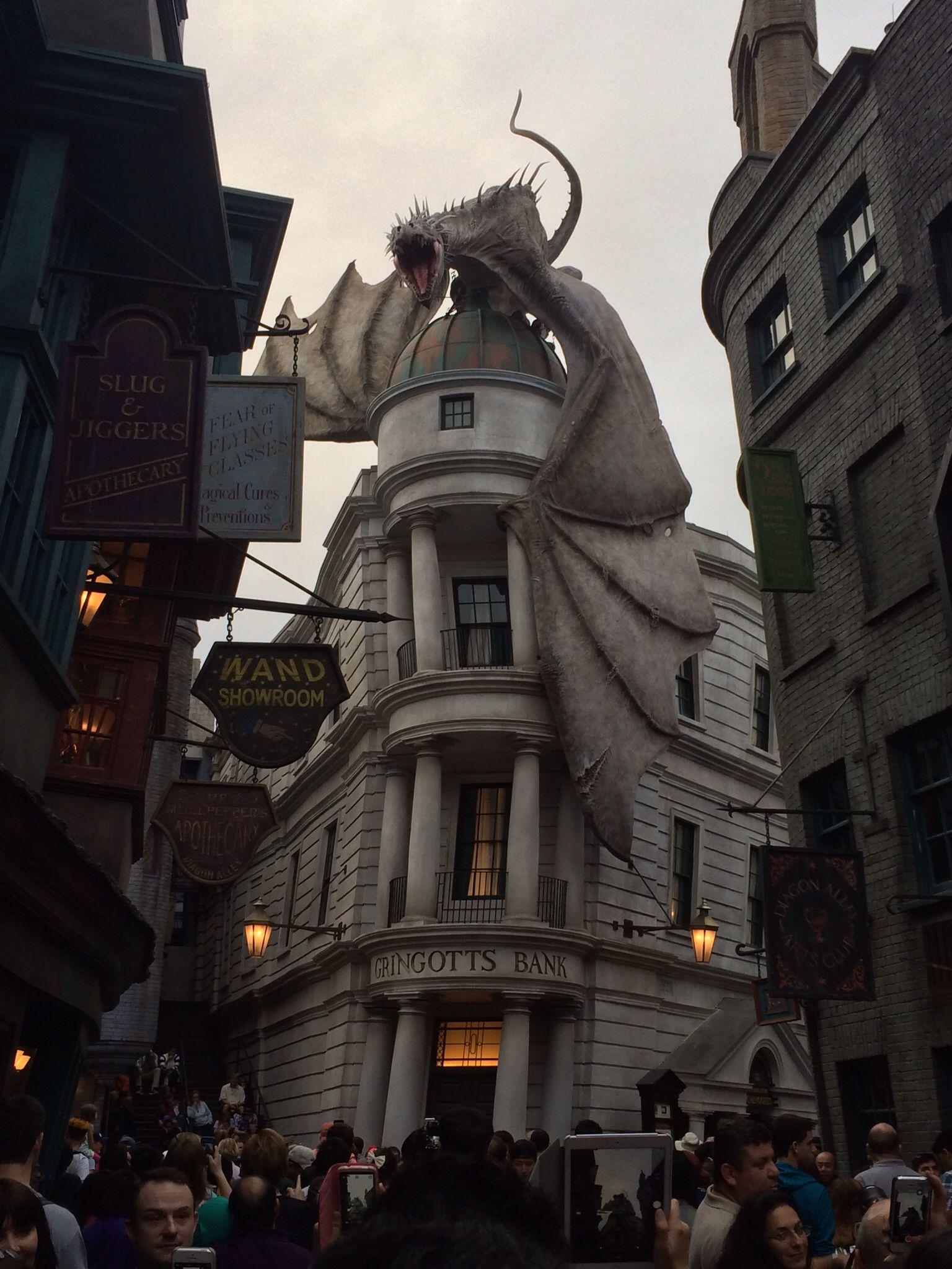 Gringotts Bank Universal Studios Orlando Awesome Universal