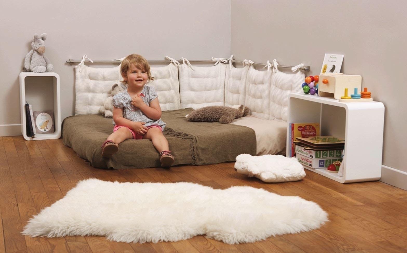 Réalisez votre chambre Montessori  Chambre bébé montessori