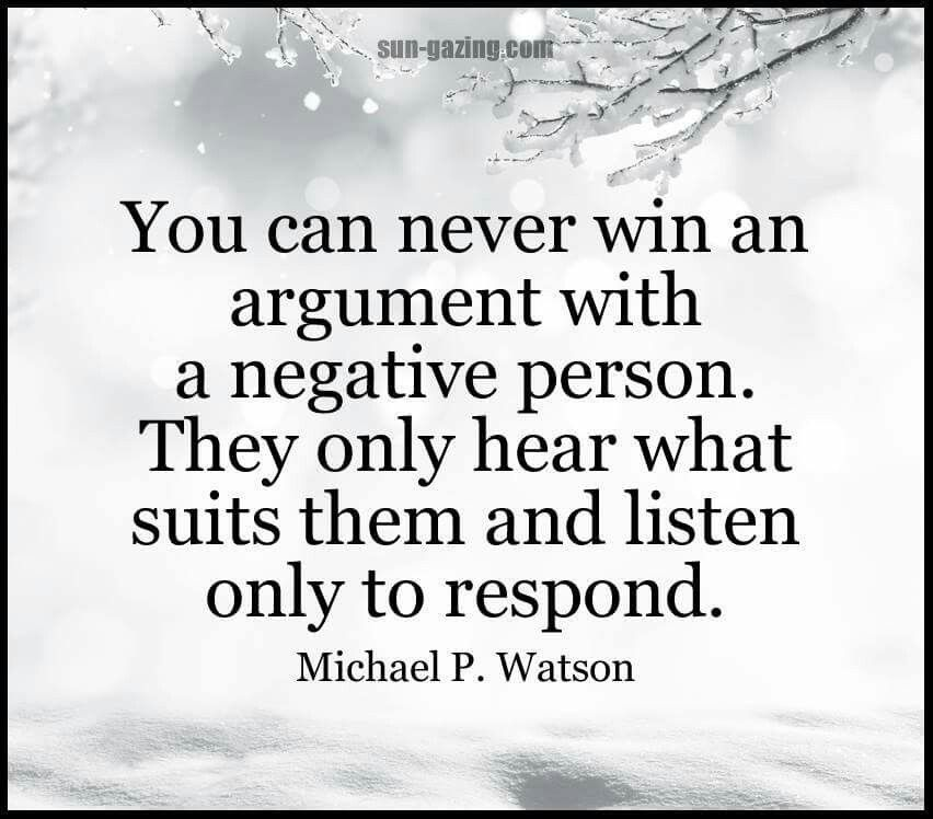 Michael P Watson Quote Me Quotes Negative Person Negative People