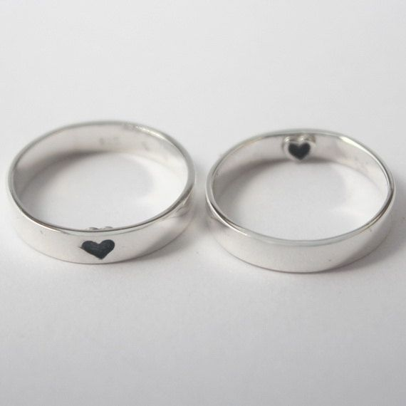Heart Imprint Ring Sterling Silver With By Heartcoredesign