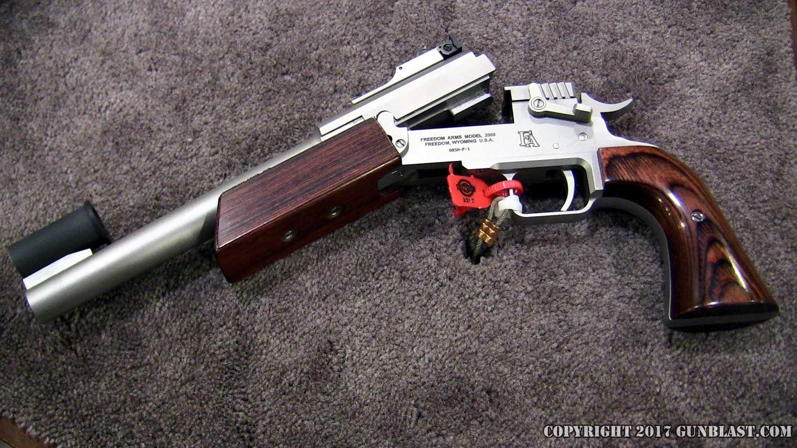 Freedom Arms Model 2008 Single Shot Pistol Hand Guns Guns Badass Guns