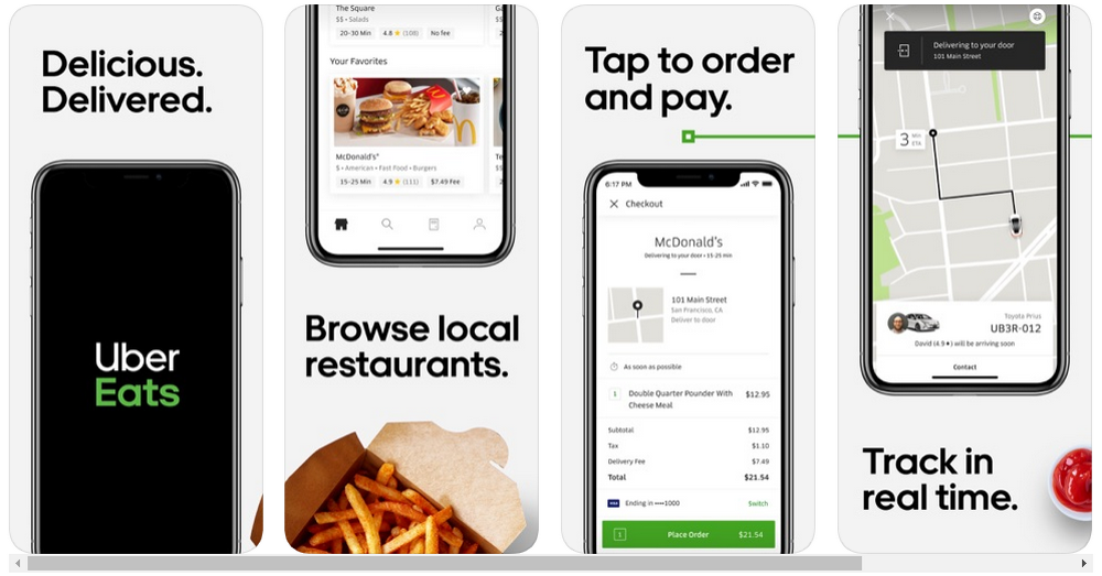 App Store Screenshot Mockup Templates Psd Sketch Food App