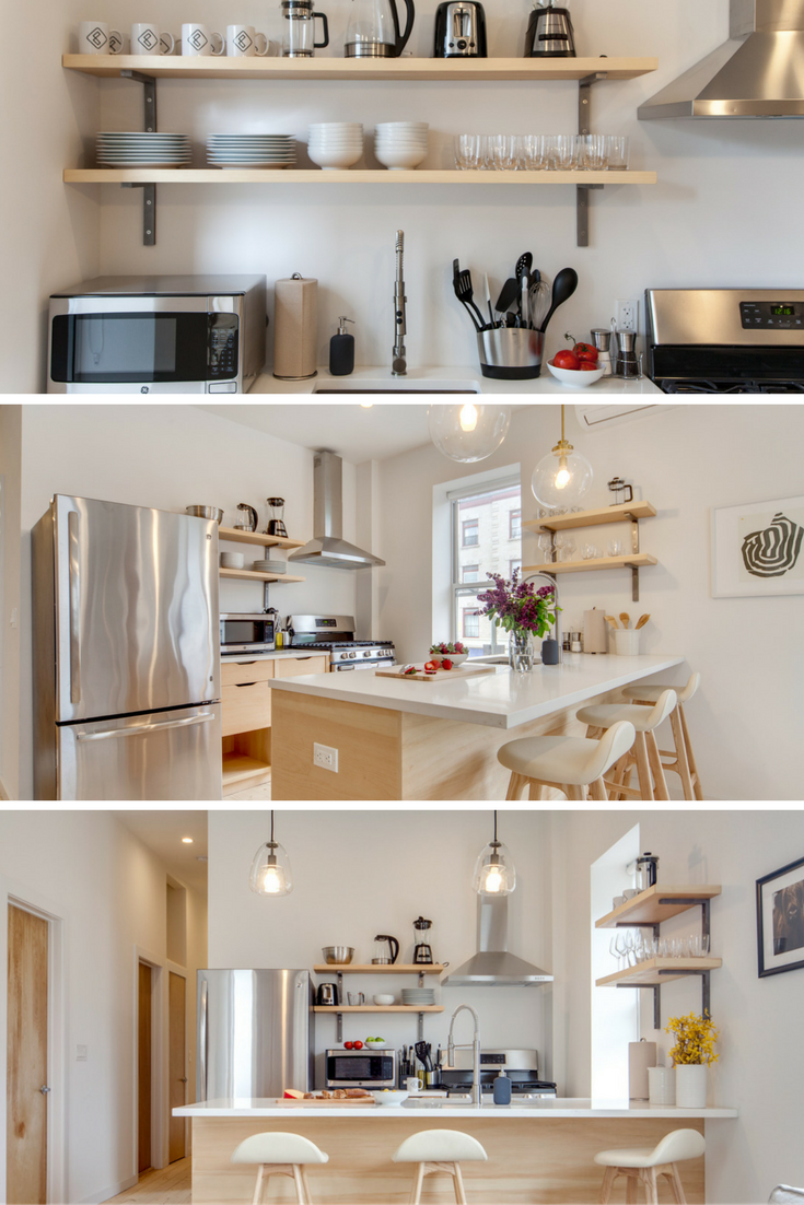 Common Lincoln // Kitchen | shared space // breakfast bar // pendant lights & Common Lincoln // Kitchen | shared space // breakfast bar // pendant ...