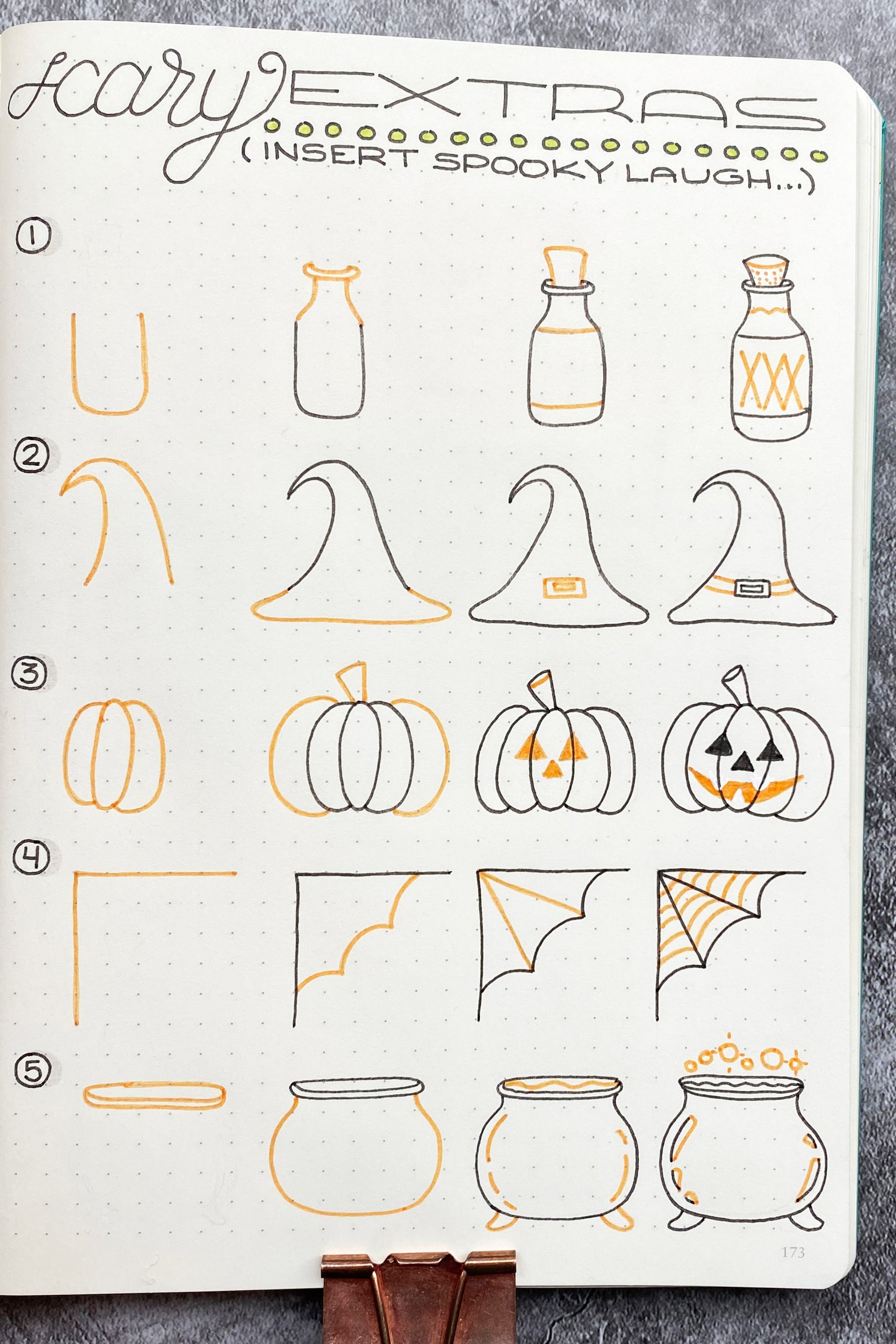Photo of How to Draw: Scary Extra Bullet Journal Doodles