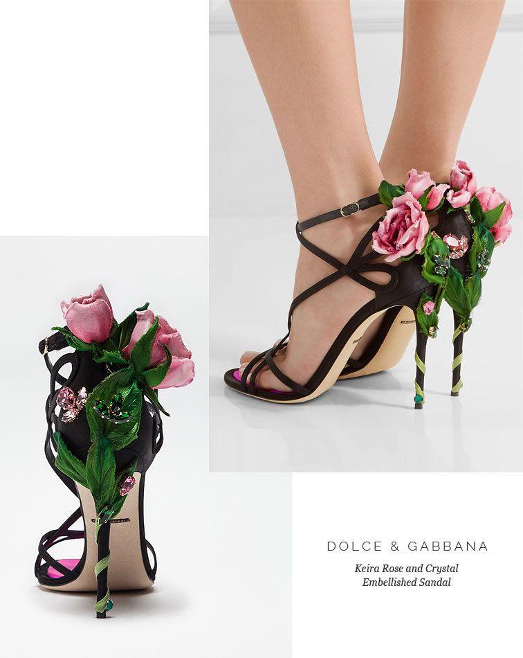 b4ff76ad2669 Lovika List - Dolce   Gabbana Rose-Embellished Sandals