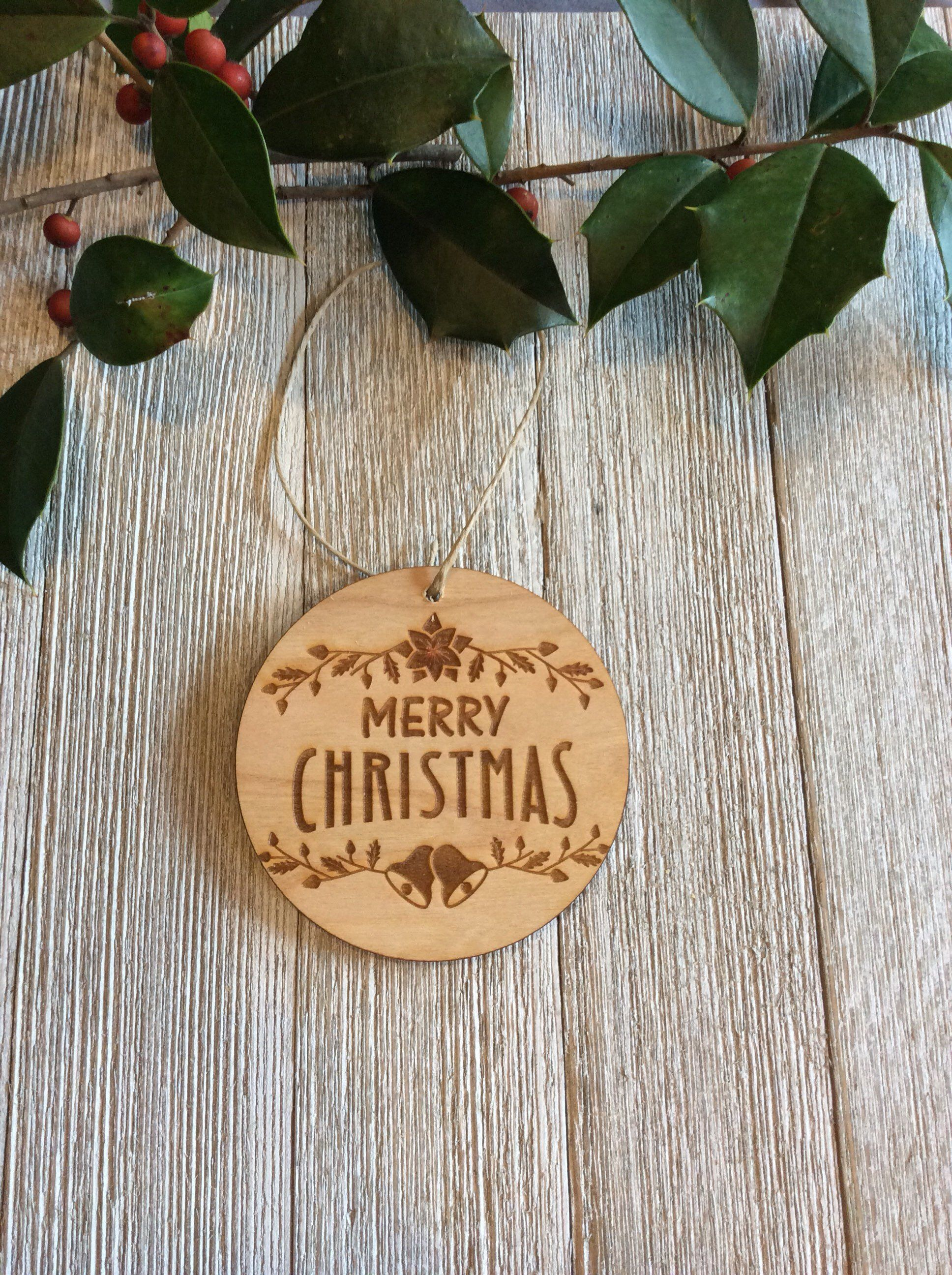 Wooden Ornaments Engraved Christmas Ornament Wood Gift Tags Wood Christmas Ornaments Wooden Christmas Ornaments Wooden Ornaments