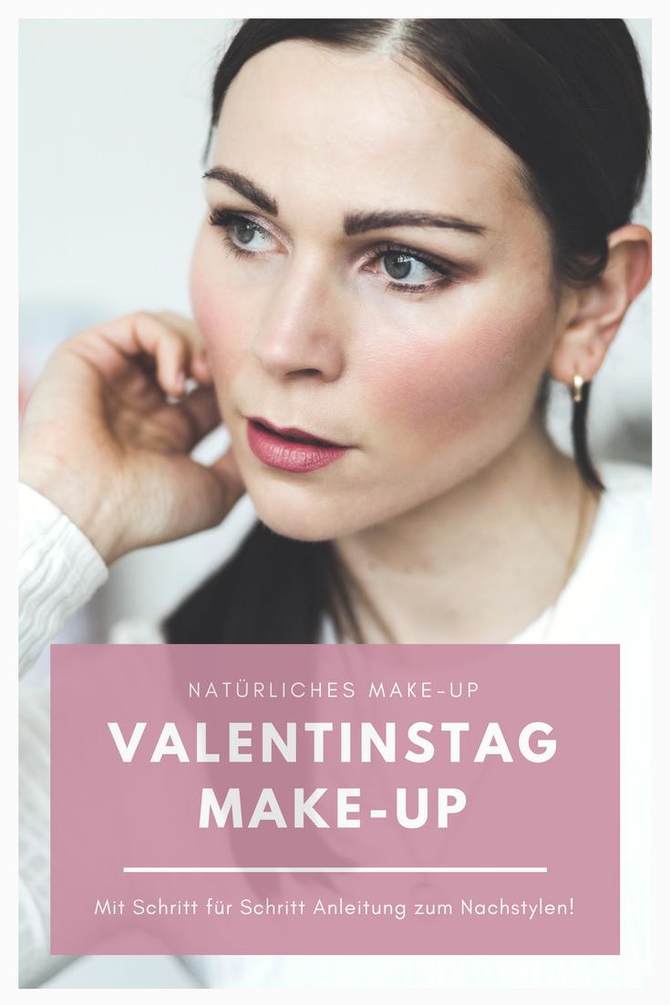 Natürliches Valentinstag HighEnd Makeup mit Pixi